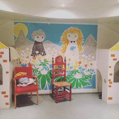 Children's Area at the Reykjavik City Library